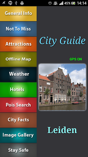 Leiden Offline Map Guide