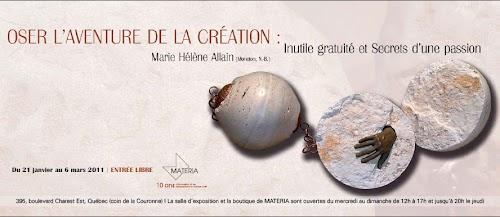 QuebecVous Invitation pour/for Marie Hélène Allain