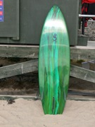 "Tim Stafford Surfboards - 6'6"" bonzer EVO3 - for SALE at Rocky Point"