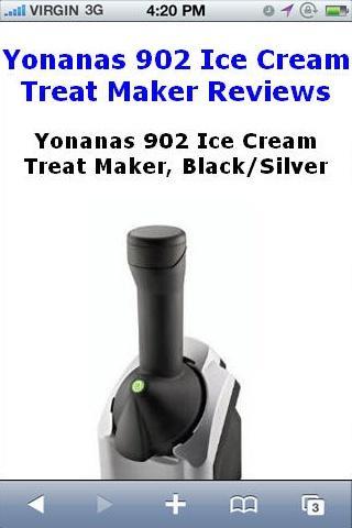 Ice Cream Treat Maker Reviews