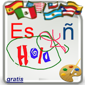 Write Spanish Alphabet,Free