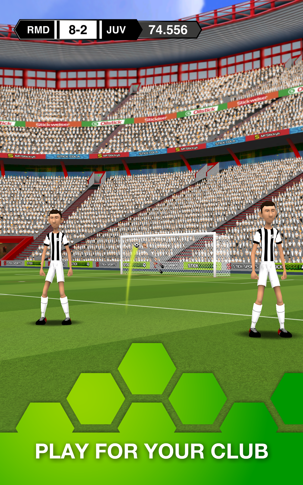Stick Soccer screenshot #13