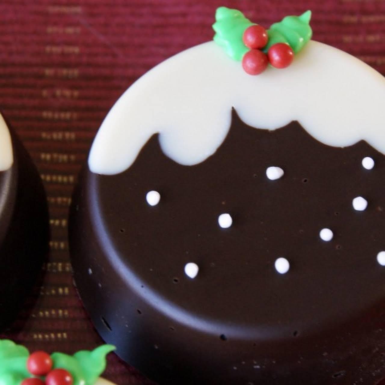 Day 2 – Christmas Pudding Chocolate Covered Oreos