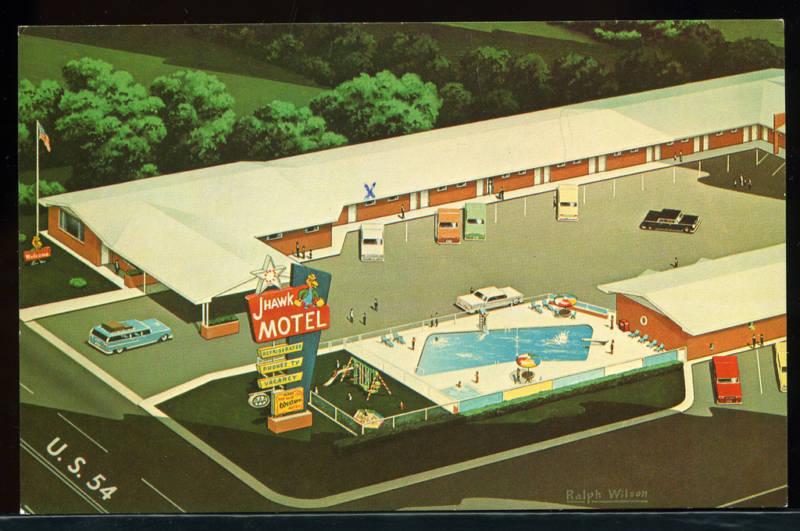 J Hawk Motel Greensburg Kansas