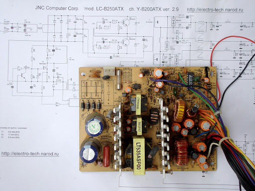 Atx Power Supply Schematic Diagram Atx Smps Atx Smps Circuit