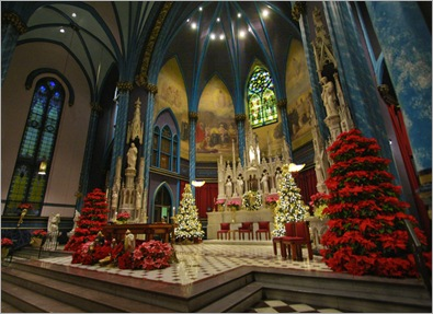 Christmas Time At St. Xavier