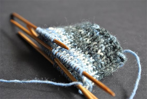 How to Knit First Sock