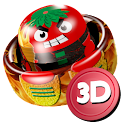Air Hockey Fire 3D icon