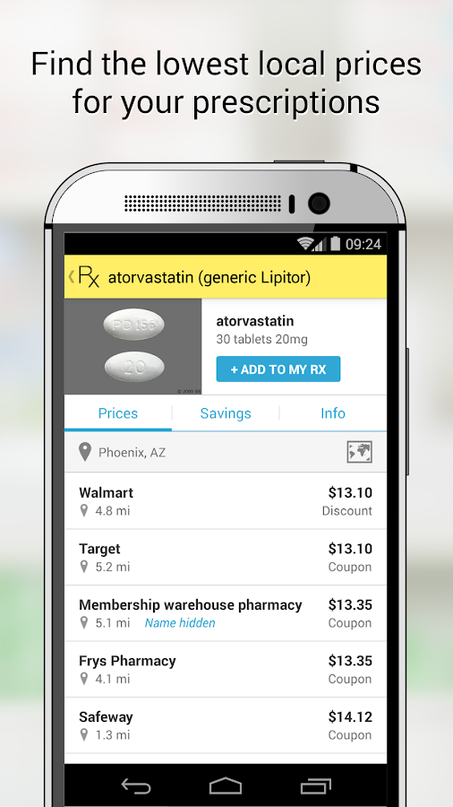 GoodRx Drug Prices and Coupons - screenshot