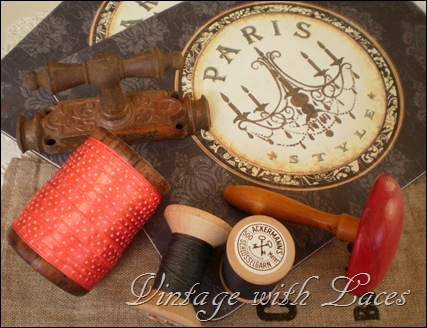 spools and bread boards