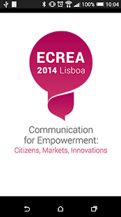 ECC ECREA 2014 app- screenshot thumbnail