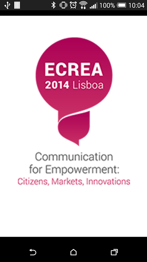 ECC ECREA 2014 app- screenshot