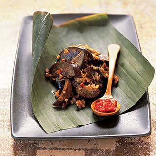 Szechuan Spicy Eggplant.