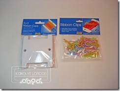 Ribbon Cards Clips