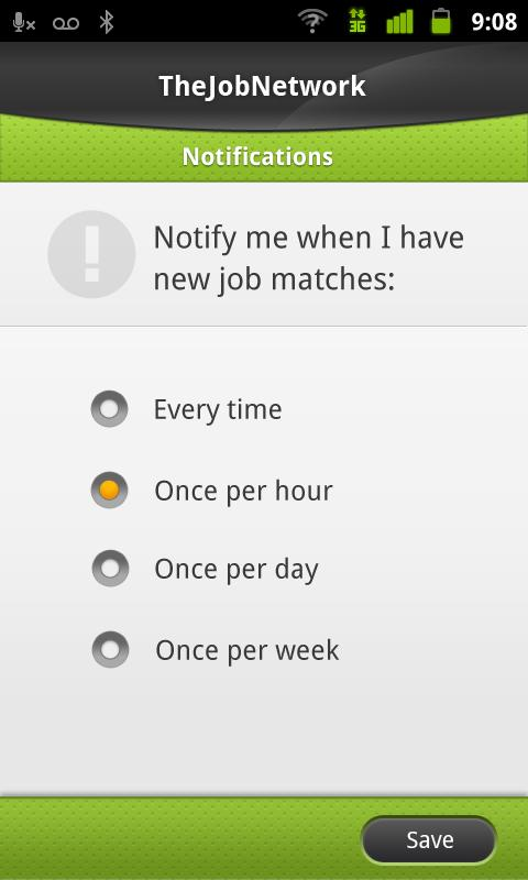 Job Match - TheJobNetwork - screenshot