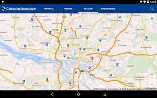 Screenshot of Dänisches Bettenlager