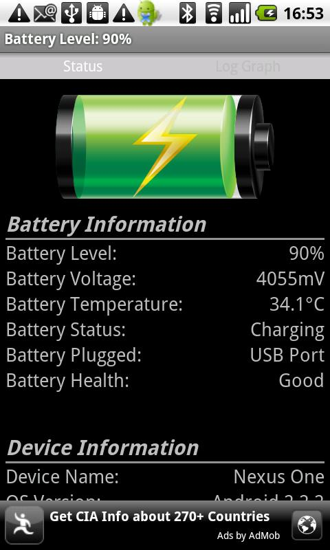 Battery Watch ★★★ Funny Voices - screenshot