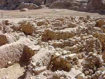 The Pre-Pottery Neolithic village of Beidha was occupied from 7200 BC to 6500 BC, in the first half of Pre-Pottery Neolithic B.