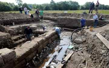 Roman water mill found during Cumbrian dig to go on display
