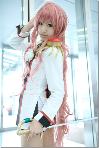 unknown cosplay 018 - shoujo kakumei utena / revolutionary girl utena - tenjou utena