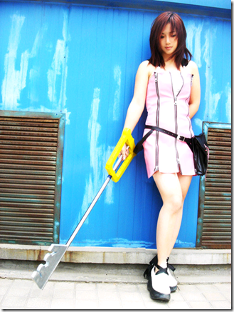 kingdom hearts 2 cosplay - kairi