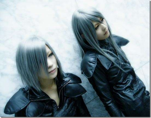 final fantasy vii advent children cosplay - kadaj and yazoo