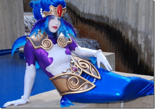 chrono cross cosplay - irenes