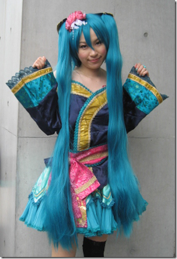 vocaloid 2 cosplay - hatsune miku 11 from comiket 1010