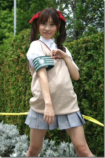 to aru kagaku no railgin / to aru majutsu no index cosplay - shirai kuroko from comiket 2010