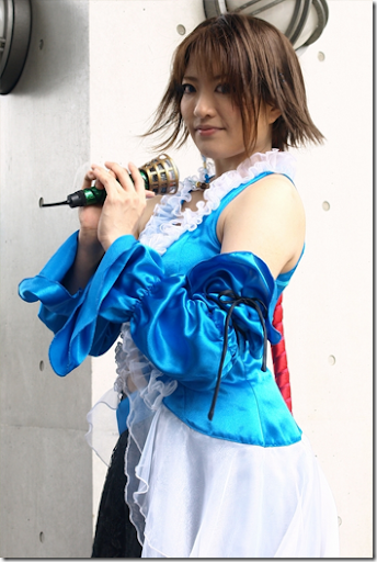 final fantasy x-2 cosplay - yuna 07 from comiket 2010