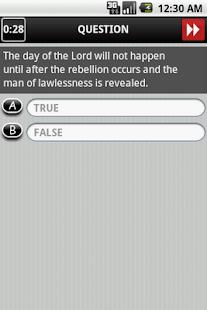 Holy Bible Trivia Lite- screenshot thumbnail
