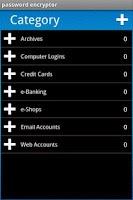 Screenshot of Passwords