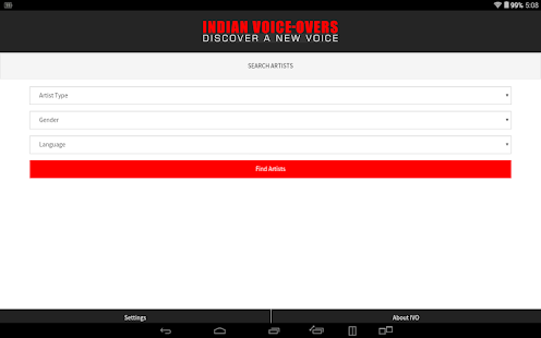 INDIAN VOICE-OVERS- screenshot thumbnail