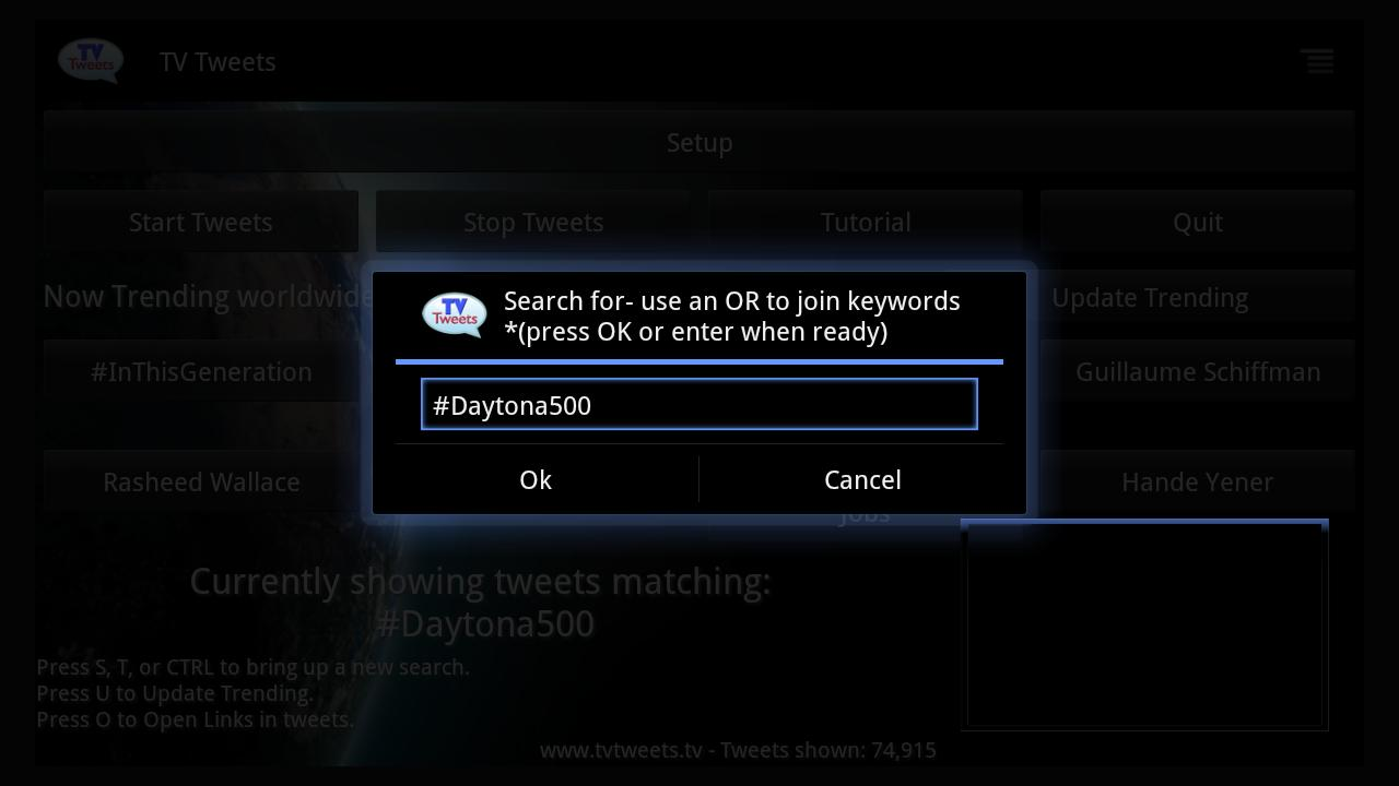 TV Tweets Free - screenshot