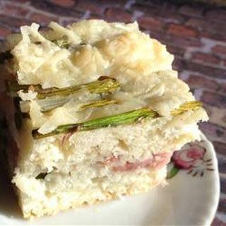 Ham and Asparagus Brunch Bake