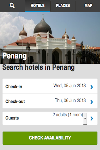 Penang Hotels Booking Cheap