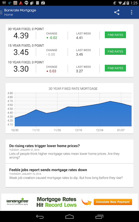 Mortgage Calculator & Rates - screenshot