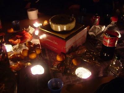 크리스마스 파티 음식 - 변산반도 [크리스마스,파티,음식,전라북도,여행,변산반도,수련회]