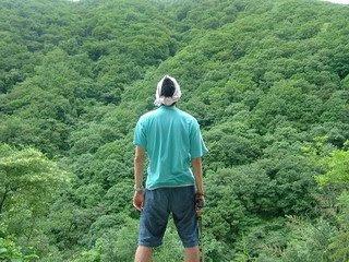 집다리골 자연휴양림에서 나의 뒷모습 [집다리골,자연휴양림,forest,korea,한국]
