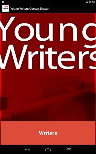 Young Writers Quotes Shayari