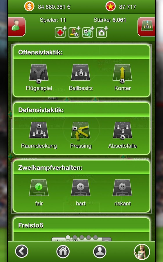 Fussballcup- screenshot