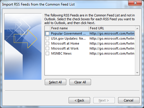 Vista Common Feed List - Rapepecservpleas