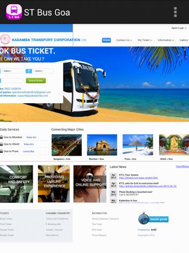 ST Bus Goa