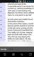 Screenshot of Funny Stories and Jokes