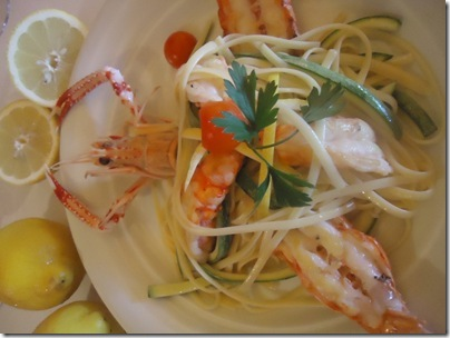 Linguine à Siciliana