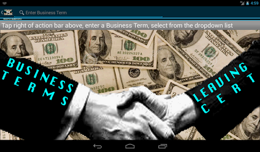 【免費教育App】Business Terms Leaving Cert-APP點子