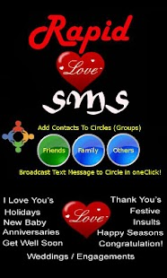 Rapid Love SMS - LITE - screenshot thumbnail