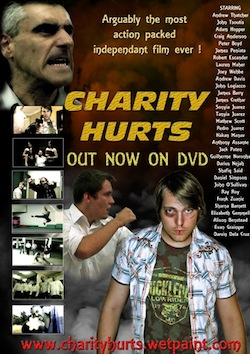 Charity hurts poster