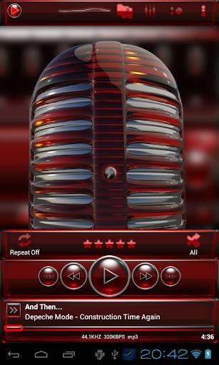 玩生活App|后皮肤红玻璃免費|APP試玩