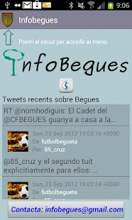 InfoBegues - screenshot thumbnail